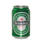 Heineken beer 33 cl CAN