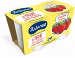 WHOLE MILK YOGURT 3A CON BLENDED STRAWBERRY 2X125GR