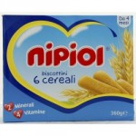 COOKIES NIPIOL 6 GRAINS 360G