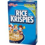 CEREALS KELLOGG RICE KRISPIES 375GR