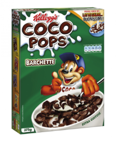 CEREALS KELLOGG COCOPOPS BOAT SHAPED