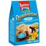 WAFER LOACKER VANILLA SQUARES 250GR