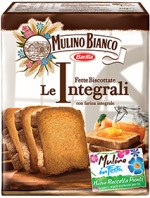 WHOLE WHEAT MELBA TOASTS MULINO BIANCO 36PCS