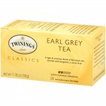TWININGS EARL GREY TEA 25PCS