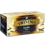 TWININGS BLACK VANILLA 25PCS