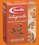 PASTA BARILLA STRIPED WHOLEWHEAT MEZZE PENNE