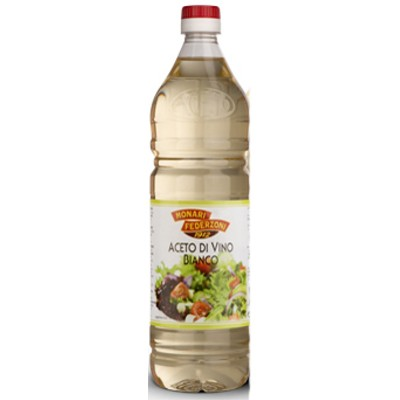 White wine vinegar MONARI 1LT PET