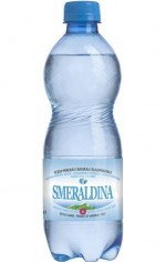 SMERALDINA SPARKLING WATER 50 cl x 9 PET.