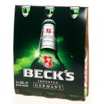 BECK'S BEER 3x33CL BOTTLE