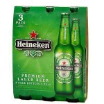 HEINEKEN BEER 33CL X 3 BOTTLE