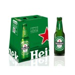 HEINEKEN BEER 25CL X 6 BOTTLES