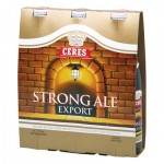 CERES STRONG BEER 33CL x 3 BOTTLES