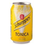 SCHWEPPES TONIC 33CL CAN