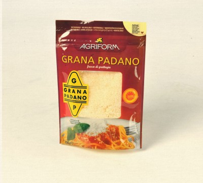 GRATE GRANA PADANO CHEESE AGRIFORM 100GR